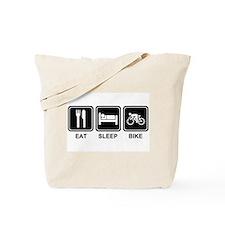 EAT SLEEP BIKE Tote Bag