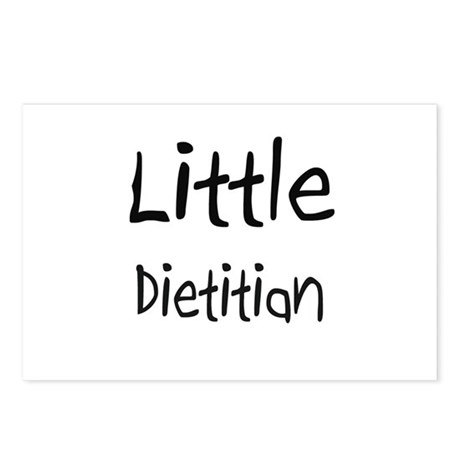 Little Dietitian Postcards (Package of 8)