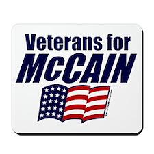 Vets for McCain Mousepad