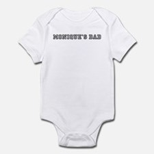 Moniques father Infant Bodysuit
