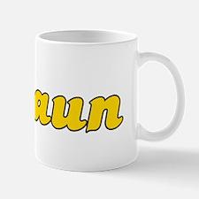 Retro Shaun (Gold) Mug