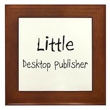 Little Desktop Publisher Framed Tile