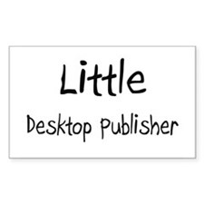 Little Desktop Publisher Rectangle Decal