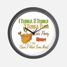 Tequila Party Wall Clock