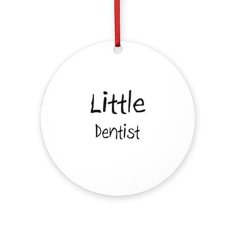 Little Dentist Ornament (Round)