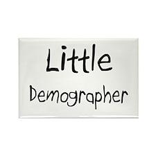 Little Demographer Rectangle Magnet