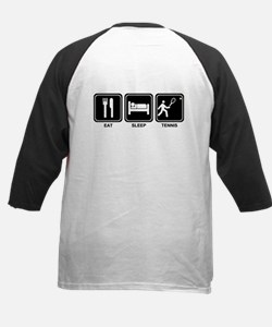 EAT SLEEP TENNIS Kids Baseball Jersey