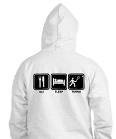 EAT SLEEP TENNIS Hoodie