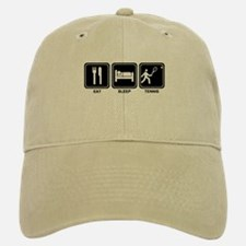 EAT SLEEP TENNIS Baseball Baseball Cap