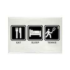 EAT SLEEP TENNIS Rectangle Magnet (100 pack)
