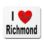 I love Richmond Virginia Mousepad