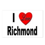 I love Richmond Virginia Postcards (Package of 8)