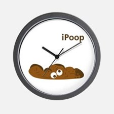 iPOOP Wall Clock