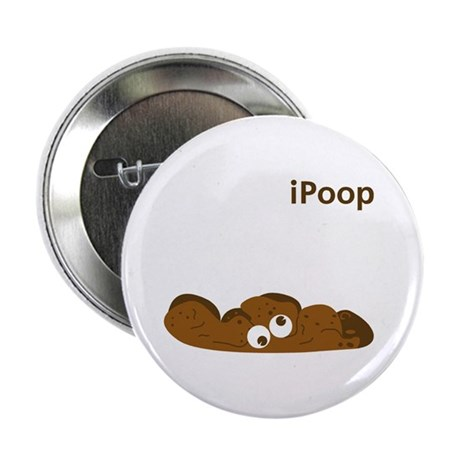 """iPOOP 2.25"""" Button (10 pack)"""