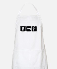 EAT SLEEP VOLLEYBALL BBQ Apron