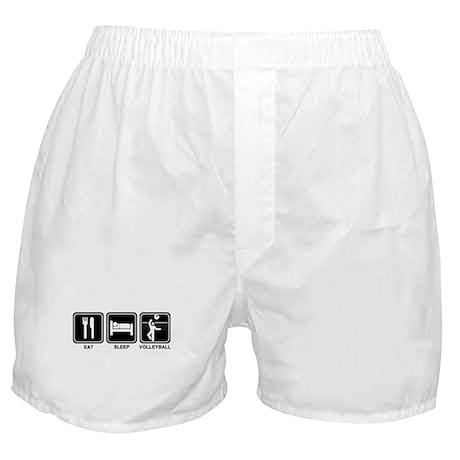 EAT SLEEP VOLLEYBALL Boxer Shorts