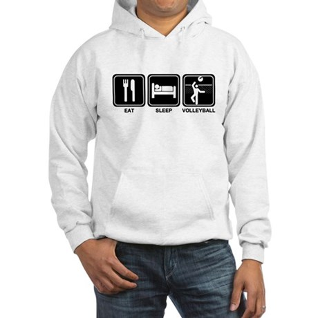 EAT SLEEP VOLLEYBALL Hooded Sweatshirt