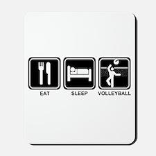 EAT SLEEP VOLLEYBALL Mousepad