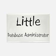 Little Database Administrator Rectangle Magnet