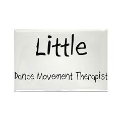 Little Dance Movement Therapist Rectangle Magnet