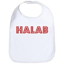 Retro Halab (Red) Bib