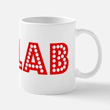 Retro Halab (Red) Mug