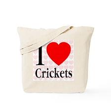 I Love Crickets Tote Bag