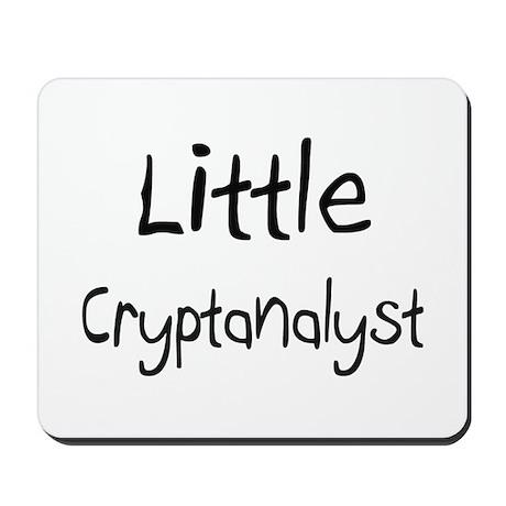 Little Cryptanalyst Mousepad