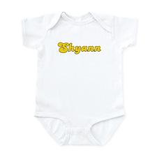 Retro Shyann (Gold) Infant Bodysuit