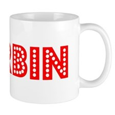 Retro Harbin (Red) Mug