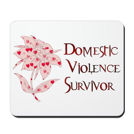 Domestic Abuse Survivor Mousepad