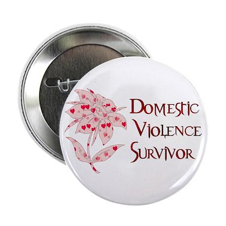"""Domestic Abuse Survivor 2.25"""" Button"""