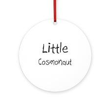 Little Cosmonaut Ornament (Round)