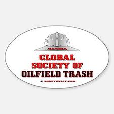Global Society of Oilfield Trash Decal