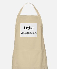 Little Corporate Librarian BBQ Apron