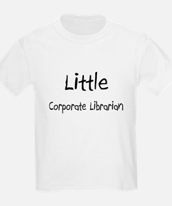 Little Corporate Librarian T-Shirt