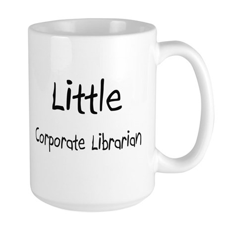 Little Corporate Librarian Large Mug