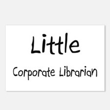 Little Corporate Librarian Postcards (Package of 8