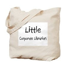 Little Corporate Librarian Tote Bag