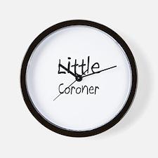 Little Coroner Wall Clock