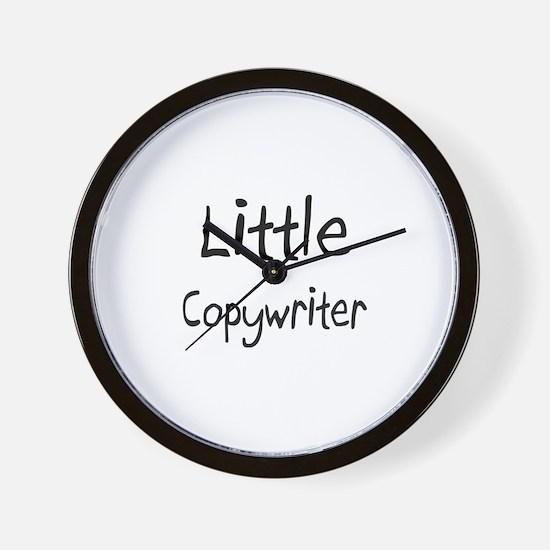 Little Copywriter Wall Clock