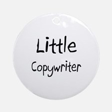 Little Copywriter Ornament (Round)