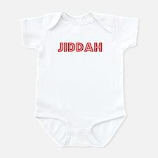 Retro Jiddah (Red) Infant Bodysuit
