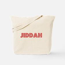 Retro Jiddah (Red) Tote Bag