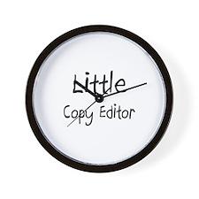 Little Copy Editor Wall Clock