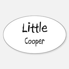 Little Cooper Oval Decal