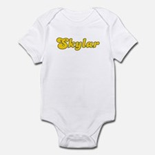 Retro Skylar (Gold) Infant Bodysuit
