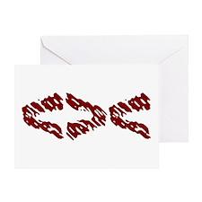 Red Fish Greeting Card