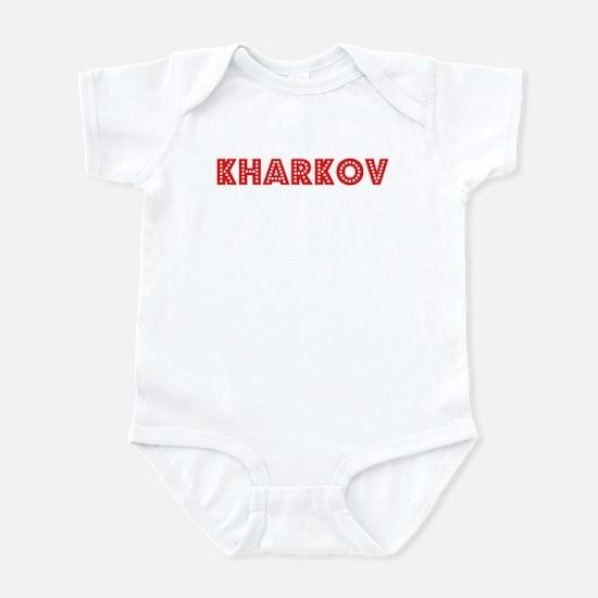 Retro Kharkov (Red) Infant Bodysuit