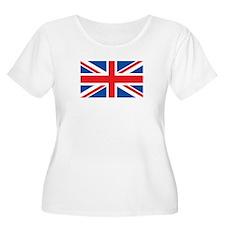 UK Womens Plus-Size Scoop Neck T